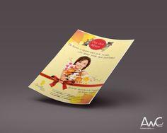 Desenvolvimento de Impressos Promocionais Folder para o cliente:  Agroflora