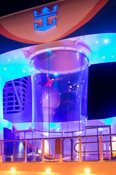 Anthem of the Seas | Take the plunge on the iFly, Royal Caribbean's incredible new skydiving simulator located onboard Quantum Class ships.