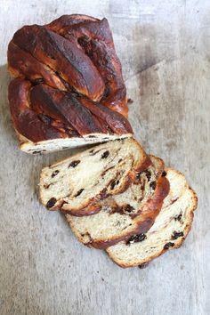 Braided Cinnamon Raisin Bread - The Little Epicurean