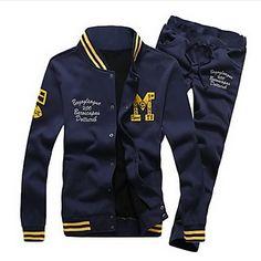 Men's Fashion Sports Casual Sweatshirt Suits – USD $ 35.99 Lástima que cuesta 900 pesos....