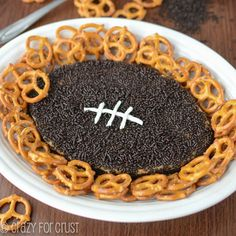 Make sure to snap a photo of this adorable football-shaped snack because it won't look like that for long!