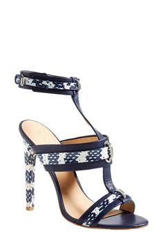 L.A.M.B. 'Bradley' T-Strap Sandal (Women) available at #Nordstrom