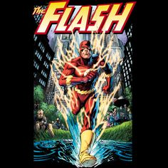 Flash - The Crimson Comet is a T Shirt designed by DCComics to illustrate your life and is available at Design By Humans