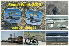 Beach Week Announcement