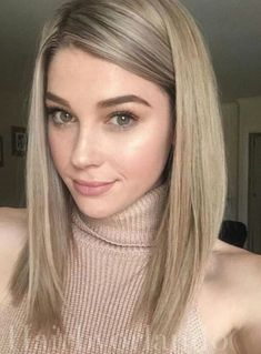 Ash Blonde Hair Color Ideas
