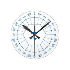 Trigonometry Radians Large Wall Clock Teaching ️