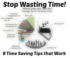 Time is #money so stop wasting it! Check out these eight time saving tips to get more time each day. successful people, successful quotes #success