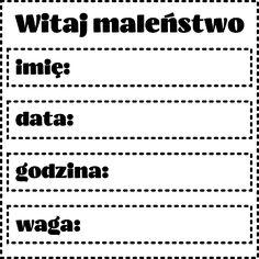 Projectgallias:#projectgallias #cyfrowasroda #cyberwednesday, digi, grafiki, free, do pobrania, metryczka, metryczki, dziecko, baby