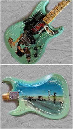 Fender masterbuilt yuriy hotrod strat
