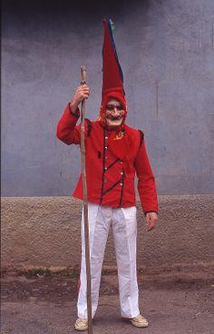 "Máscara de Bruxo - Másk & Costume of Cantabria, Spain 2014 - Parade ""Vijanera de Silió, Molledo"" , Cantabria, Spain 2014"