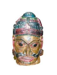 Buy Decorative Masks Online India Antique Carving Hand Carved Wall Panel Vitarka Teaching Buddha
