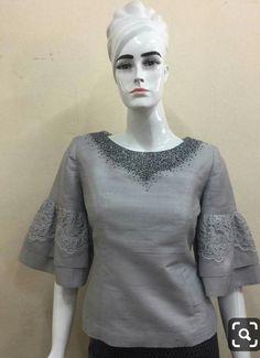 Model Kebaya Modern, Kebaya Lace, Filipiniana Dress, Thailand Fashion, Thai Dress, Batik Dress, Muslim Fashion, African Dress, Feminine Style