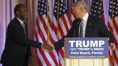 Ben Carson hops aboard the Trump train: 'He's actually a very intelligent man'