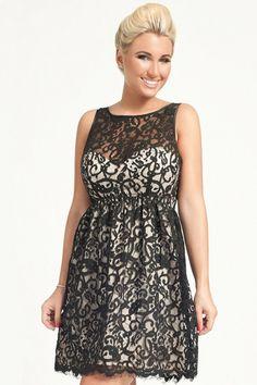 Little-Mistress Minnies Lace Detail Dress Curvy Fashion, Plus Size Fashion, Dress For You, Lace Detail, Lace Dress, Curves, Formal Dresses, Mistress, Fashion Ideas