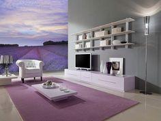 увеличить визуально комнату с помощью обоев