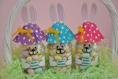 DIY- easter bunny bottle!
