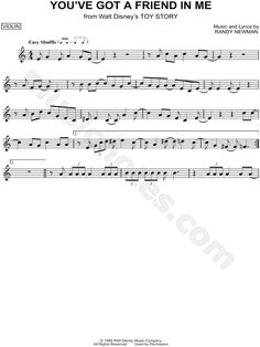"""""""You've Got a Friend In Me"""" from 'Toy Story' Sheet Music (Violin Solo) - Download & Print"""