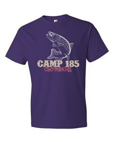 Camp 185 Trout Short sleeve t-shirt
