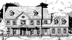 Eplans Country House Plan - Five Bedroom Country - 4343 Square Feet and 5 Bedrooms(s) from Eplans - House Plan Code HWEPL72483