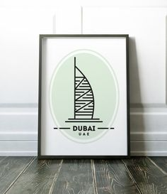 Dubai minimalist print - many more cities and states are available in my store. Most of my prints are now available for you to print at home in my other shop here: www.etsy.com/uk/shop/NordicDesignHouseCo MY PRINTS All of my prints are designed inhouse so if you require a different colour or alteration please just send me a convo and I will be more than happy to make any small change free of charge. Larger, more time consuming changes will require an additional charge which I will be…