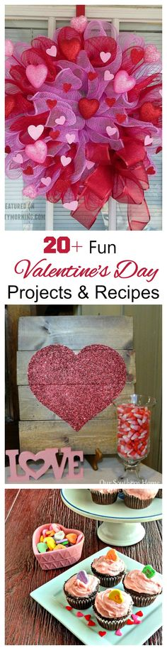 These Fun Valentine Ideas are great ways to say I love you around the home and in your recipes.