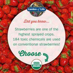Choose #organic.