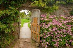 puertas CON FLORES hermosas - Buscar con Google