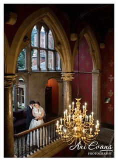 Brownsover Hall Hotel Chandelier photograph