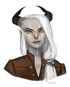 Casual style for a Qunari inquisitor