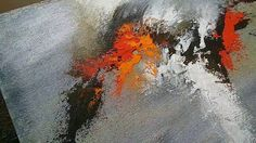 Abstract painting / How to paint Abstract painting in Acrylics / Demonst...
