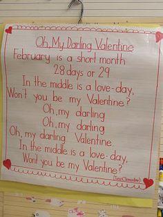 (Poem)  February / Valentine's Day Poems