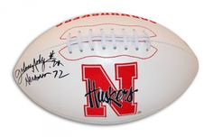 "AAA Sports Memorabilia LLC - Johnny Rodgers Nebraska Cornhuskers Autographed Team Logo Football Inscribed ""Heisman 72"", $79.95 (http://www.aaasportsmemorabilia.com/collegiate-memorabilia/nebraska-cornhuskers/johnny-rodgers-nebraska-cornhuskers-autographed-team-logo-football-inscribed-heisman-72/)"