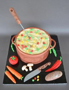 Cooking pot cake - Cake by giveandcake