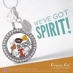 College charms from Origami Owl