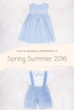 Mariella Ferrari – Collezione Primavera | Estate 2016 – www.mariellaferra... – #Fashion #ModaBambini #SpringSummerCollection #Vintage #Abbigliamento