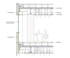 Best Detail Images On Pinterest Detailed Drawings Architecture - Raised floor construction detail