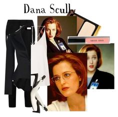 """""""scully"""" by tokyo-mocha ❤ liked on Polyvore featuring Tom Ford, Yves Saint Laurent, Bobbi Brown Cosmetics, Topshop, COSTUME NATIONAL, women's clothing, women's fashion, women, female and woman"""