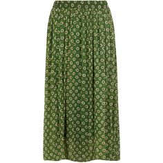 Dorothy Perkins Green floral pleated maxi (620 UAH) ❤ liked on Polyvore featuring skirts, bottoms, maxi skirts, green, long green skirt, pleated skirt, long floral skirts, long pleated maxi skirt and elastic waist skirt