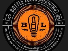Bottle Logic Coaster by Emrich Office