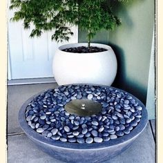Our new Ethanol Fire Bowl. No gas fitting needed. Can also be used indoors. Fired Earth, Fire Bowls, Furniture Making, Stepping Stones, Outdoors, Indoor, Outdoor Decor, Ideas, Design