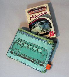 Oldtimer - Oldtimer-Quartett im Bus-Etui - ein Designerstück von 7oaks bei DaWanda