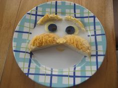 A Lorax snack would be great to have on  Dr. Seuss' birthday or just after reading one of his books. #kids