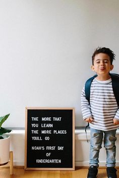 First day memories captured in style. Back-to-school is coming. Get ahead of the class with these trends.