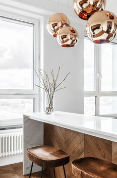 〚 Small minimalist apartment for a girl in Moscow sqm) 〛 ◾ Photos ◾Ideas◾ Design Interior Exterior, Kitchen Interior, Room Interior, Kitchen Design, Interior Design, Minimalist Apartment, Minimalist Decor, Minimalist Kitchen, Country Look