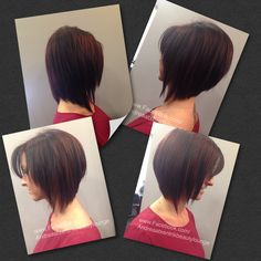 Vavoom! Add volume with the right cut. #beforeandafter #volumizinghaircuts #hairstyle #hair #haircolor