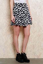 Urban Outfitters Daisy Print Skirt