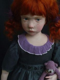French artistLaurence Ruet creates amazingly life-like dolls that can almost pass for real children.