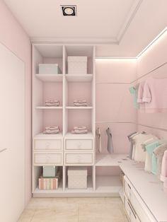 Children's bedroom Sweet dreams on Behance is part of Closet bedroom - Trendy Bedroom, Girls Bedroom, Bedroom Decor, Childrens Bedroom, Closet Bedroom, Pink Closet, Dream Rooms, Dream Closets, My Room