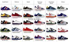 addidas superstar entire collection