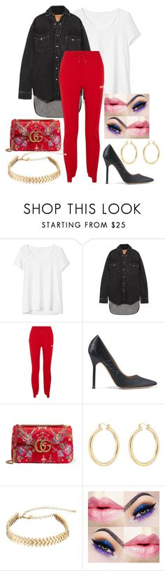 """""""2/31 💥💞"""" by decimaollin ❤ liked on Polyvore featuring Gap, Vetements, Gucci, Isabel Marant and Rebecca Minkoff"""